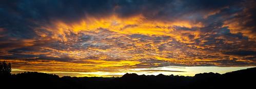 Sunrise - View from Losenpass / Austria