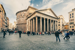 Pantheon, Rome - Italy (peterhorensky) Tags: pantheon rome italy architecture temple romantemple