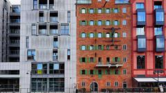 Old between new Architecture (rainerpetersen657) Tags: gdansk danzig poland polska polen city travel architecture architektur sony sonyalpha houses