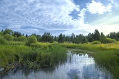 DSCF1516 (sibfoto24) Tags: nature blue water sky green sunset tree clouds sun landscape new lake river