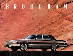 1992 Cadillac Brougham d'Elegance (aldenjewell) Tags: 1992 cadillac brougham delegance mailer brochure