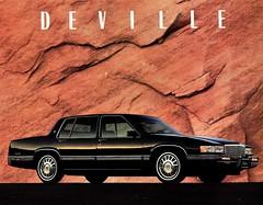 1992 Cadillac DeVille (aldenjewell) Tags: 1992 cadillac deville mailer brochure