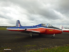 Jet Provost (BenGPhotos) Tags: 2019 jet fest jetfest north weald airfield airshow aircraft xw325 bac hunting percival provost t5a t5