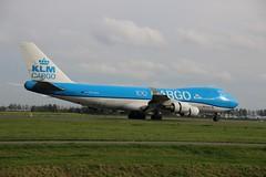 PH-CKA 747-406F AMS 2019-10-19 (11) (Michael Huising) Tags: aviation planespotting eham ams schiphol polderbaan taxiway klm royaldutchairlines boeing dreamliner 737 747 777 787 airbus a330 embraer queenoftheskies