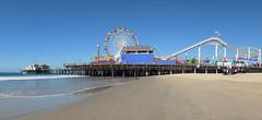 Santa Monica Pier. (Bernard Spragg) Tags: santamonicapier la lumix pier bigwheel travel usa cco
