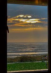 Terschelling (Anchye) Tags: terschelling waddeneiland strand water sand beach lovethesea loveholland waddenzee noordzee raam regendruppels zonsondergang susetthroughthewindow sunset
