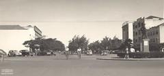 Praça Atílio Correia Lima, Goiânia, anos 1960. (Arquivo Nacional do Brasil) Tags: goiás goiânia arquivonacional arquivonacionaldobrasil nationalarchivesofbrazil nationalarchives regiãocentrooeste