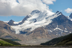 Athabasca Mountain (euansco) Tags: icefield parkway jasper banff national park glacier ice snow summer athabasca wild nature adventure