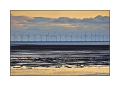 Waiting for the wind! (john.methven) Tags: mersehead dumfries windfarm turbines sunset clouds sea water