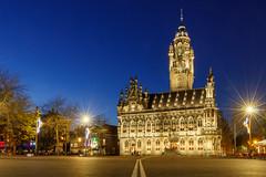 Stadhuis Middelburg 2 (Tom van der Heijden) Tags: 60d canon canoneos60d eos eos60d middelburg nachtfotografie stadhuis hdr zeeland walcheren markt