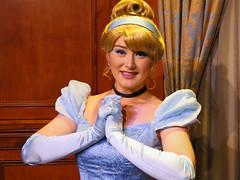 Cinderella (meeko_) Tags: cinderella princess characters disneycharacters princessfairytalehall fantasyland magic kingdom magickingdom themepark walt disney world waltdisneyworld florida