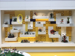 Displayed at the LEGO House (moctown) Tags: lego legohouse yellowzone nature billund flower plant hiphop music sound ghettoblaster vase