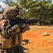 Fires an M16A4 rifle on Camp Hansen during combat readiness training under CBRN circumstances