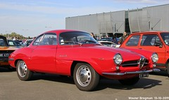 Alfa Romeo Giulia Sprint Speciale 1965 (XBXG) Tags: 65ehv95 alfa romeo giulia sprint speciale 1965 alfaromeogiuliasprintspeciale giuliass ss ar coupé coupe red rood rouge automédon 2019 le bourget lebourget îledefrance 93 france frankrijk carshow meeting vintage old classic italian car auto automobile voiture ancienne italienne italie italia italy vehicle outdoor bertone