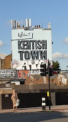 Kentish Town (My photos live here) Tags: london kentish town road sign mural capital city england camden north urban