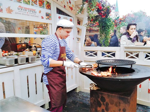 Golden Autumn food festival in Moscow