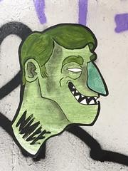 Nute October 2019 (svennevenn) Tags: nute pasteups gatekunst streetart bergen