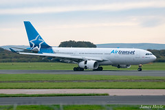 Air Transat C-GUBH A330 at Manchester Airport 22-10-19 (JH Aviation and Railway Photography) Tags: airliner airport aircraft aviation airways airlines aviationviewingpark avp egcc manchester manchesterairport southside jetliner jet jets