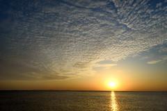 Cirrus Sunset (TigerPal) Tags: korea republicofkorea southkorea rok yeongjongdo marisan sunset sea coast shore beach island cloud