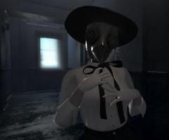 Pestilence (octoplasm) Tags: original originalcharacter oc roleplay rp steampunk horror spooky avatar sl secondlife halloween doctor