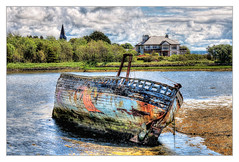 Sligo IR - Shipwreck at Rosses Point 02 (Daniel Mennerich) Tags: sligo rossespoint shipwreck countysligo ireland canon dslr eos hdr hdri spiegelreflexkamera slr eire irland éire irlande ирландия irlanda