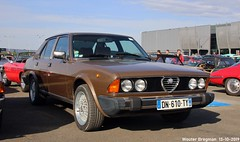 Alfa Romeo 6 2.5 1980 (Wouter Bregman) Tags: dn610ty alfa romeo 6 25 1980 alfaromeo ar sei 2500 marron brown automédon 2019 le bourget lebourget îledefrance 93 france frankrijk carshow meeting youngtimer vintage old classic italian car auto automobile voiture ancienne italienne italie italia italy vehicle outdoor