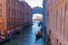 Venice, Italy (wildhareuk) Tags: canon canoneos500d italy tamron18270mm venice venice2019 water bridge building canal gondola gondolier tamron img9924dxo