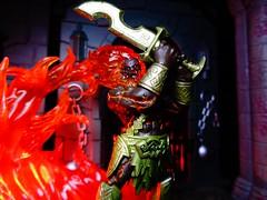 Fire Giant (ridureyu1) Tags: firegiant pathfinder paizo dungeonsdragons dd dungeonsanddragons tsr wizardsofthecoast wotc rpg roleplayinggame gygax arneson toy toys actionfigure toyphotography sonycybershotsonycybershotdscw690