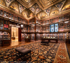 Morgan Library (20191020-DSC06920-Pano-2) (Michael.Lee.Pics.NYC) Tags: newyork morganlibrary ohny openhousenewyork museum architecture panorama shiftlens books library sony a7rm4 laowa12mmf28 magicshiftconverter