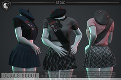 .STOIC. The Devils Scout (.STOIC. | Store Owner) Tags: secondlife sl mesh girl scout halloween costume machinima