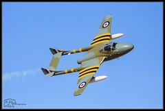 (K-Szok-Photography) Tags: airshow applevalleyairshow aircraft aviation vampire socal california canon canondslr kenszok kszokphotography canon50d 50d