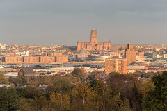 Liverpool (Philip Brookes) Tags: liverpool cathedral city skyline building architecture birkenhead wirral merseyside mersey sunset