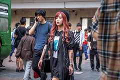Tokyo 2019 (burnt dirt) Tags: asian japan tokyo shibuya station streetphotography documentary candid portrait fujifilm xt3 laugh smile cute sexy latina young girl woman japanese korean thai dress skirt shorts jeans jacket leather pants boots heels stilettos bra stockings tights yogapants leggings couple lovers friends longhair shorthair ponytail cellphone glasses sunglasses blonde brunette redhead tattoo model train bus busstation metro city town downtown sidewalk pretty beautiful selfie fashion harajuku sweater people person costume cosplay