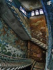 Cold staircase (baumfinder) Tags: abandoned verfall verlassen decay staircase heilstätten beelitz urbex urbanexploration