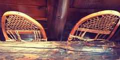General Store ... (Mr. Happy Face - Peace :)) Tags: store nativecrafts interesting collections vintage beavertails snowshoes timbers ceiling