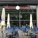 Wilma Wunder Restaurant mit Außenbreich von der Außenperspektive