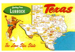 Greetings From Lubbock (booboo_babies) Tags: texas lubbock lubbocktexas oldfashioned oldschool map lonestarstate western unitedstates