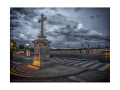 Streets of Cordoba (My digital Gallery) Tags: cordoba spain europe eu spanien kreuz kreuzung crossroad himmel wolkig twilight zwielicht dusk dämmerung