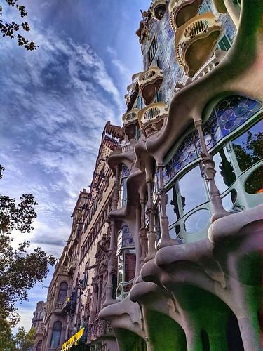 Barcelona. Casa Batlló. Gaudí.