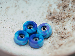Abstract Fingerboard Wheels - Swirls (MartinBeckmann) Tags: tech deck fingerboard redemption abstract wheels oak winkler flatface joycult cartwheels urethane mafia skateboarding
