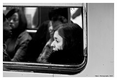 """""""Figures Libres à Paris 203"""" (TBWLC Photography) Tags: fdrouet tbwlc street metro portrait retrato nikon d610 nb bw monochrome"""