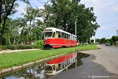 Konstal 803N #2 (b-dziewiętnaście) Tags: konstal 803n 2 linia43b lijn43b line43b poland polska konstantynówłódzki tram tramwaj strasenbahn strassenbahn kmst kmstłódź