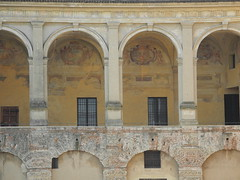 historical building (Hayashina) Tags: mantova italy history building arch architecture window hww