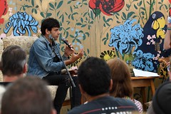 166-20180901_13th End Of The Road Festival-Larmer Tree Gardens-Wiltshire-Library Stage-Daniel Rachel in conversation (Nick Kaye) Tags: endoftheroad music festival wiltshire england