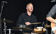 173-20180901_13th End Of The Road Festival-Larmer Tree Gardens-Wiltshire-Garden Stage-A. Wesley Chung band-drums (Nick Kaye) Tags: endoftheroad music festival wiltshire england