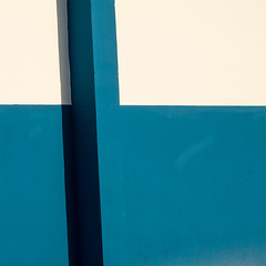 Abstract - La Linea_039 (Brian L55) Tags: spain andalucia lalinea abstract blue white geometric