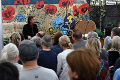167-20180901_13th End Of The Road Festival-Larmer Tree Gardens-Wiltshire-Library Stage-Tot Taylor in conversation (Nick Kaye) Tags: endoftheroad music festival wiltshire england