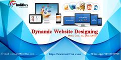 Dynamic Website Designing (seo.indiflux) Tags: web designing design noida laxmi nagar delhi software development dynamic top website best
