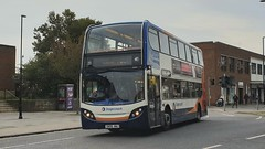 Stagecoach South 19039 (SN56 AWJ) Chichester 23/10/19 (jmupton2000) Tags: sn56awj alexander dennis enviro 400 trident stagecoach south uk bus southdown coastline sussex
