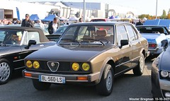 Alfa Romeo Alfetta 2.0 Quadrifoglio Oro 1983 (Wouter Bregman) Tags: bl560ls alfa romeo alfetta 20 quadrifoglio oro 1983 alfaromeoalfetta qo alfaromeo ar marron brown automédon 2019 le bourget lebourget îledefrance 93 france frankrijk carshow meeting youngtimer old classic italian car auto automobile voiture ancienne italienne italie italia italy vehicle outdoor